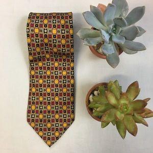 J. McLaughlin Silk Tie Handmade in Italy